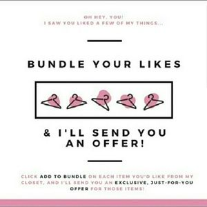 Bundle your likes & you will also save on shipping
